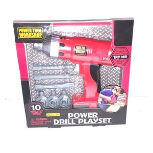 NWT TOY POWER DRILL PLAY SET